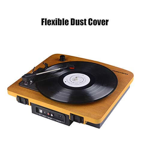 Buy quality record player with built in speakers