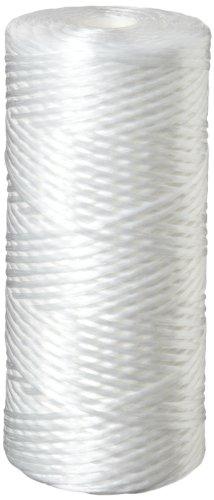 Wound Polypropylene Filter (Pentek WPX5BB97P String-Wound Polypropylene Filter Cartridge, 10