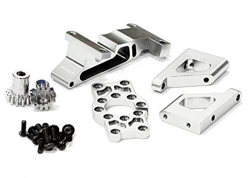 - Integy RC Model Hop-ups T3285SILVER Brushless Conversion Motor Mount Set for 1/10 Revo 3.3 & Slayer (Both)