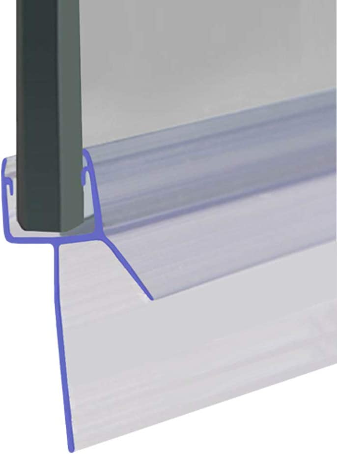 Avec forme daileron droit portes ou panneaux Pour sceller des espaces allant jusqu/à 23/mm 9/ou 10/mm Compatible avec du verre de 8 Existe en longueur 80/cm 90/cm Joint de douche pour les /écrans 140/