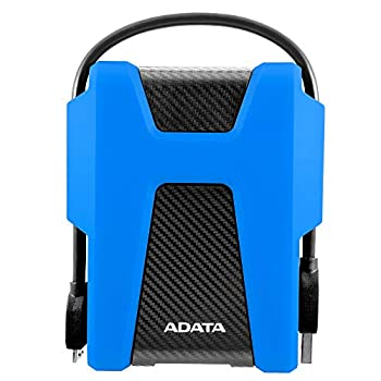 Image of ADATA HD680 2TB Military-Grade Shock-Proof External Portable Hard Drive Blue (AHD680-2TU31-CBL)