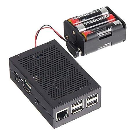 Raspberry Pi® caja negro rb-strompi2-case 2 B, 3 B, Raspberry Pi ...