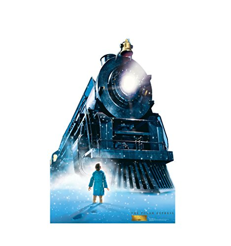 The Polar Express Train - The Polar Express - Advanced Graphics Life Size Cardboard Standup by Advanced Graphics
