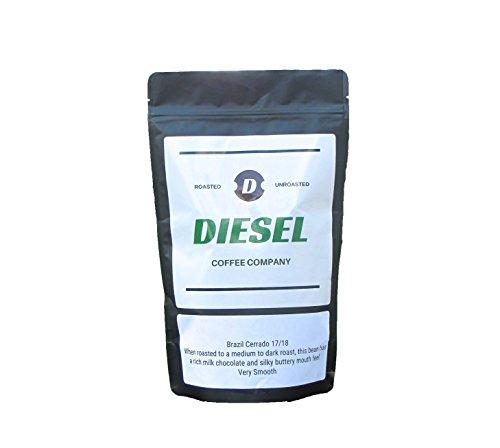 Diesel Coffee Company AIR ROASTED Whole bean 1 lbs Fresh Roasted Brazil Cerrado Arabica Beans''