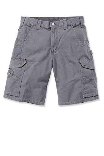 Cargo Gris Shorts Ripstop Gravier Carhartt T4wq1