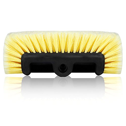 Mofeez Pro Car RV Marine Household Soft Detailing Bristle Scrub Brush 10""