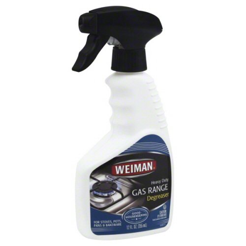 Weiman Range Cleaner Ounce case