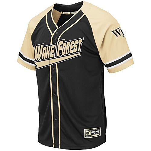 Colosseum Mens Wake Forest Demon Deacons Wallis Baseball Jersey - ()