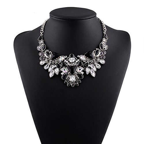 truecharms Statement Necklaces Rhinestone Necklace