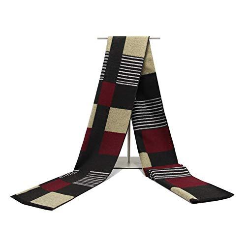Amdxd Rouge Modèle Écharpe Coton Mode Foulard 180cm Écosse Hommes Hiver Pour Automne qwrS74qIP