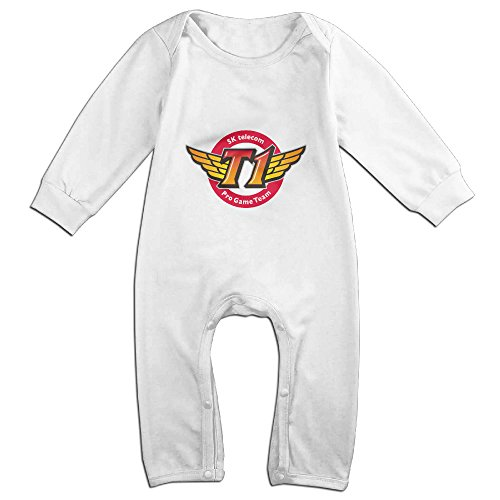 cute-sk-telecom-t1-romper-for-infant-white-size-24-months