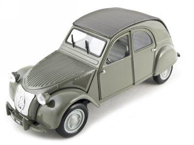 citroen-2cv-grey-1952-model-car-ready-made-maisto-118