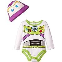 Disney Baby Boys' Buzz Lightyear Creeper, Multi, 0-3 Months