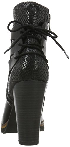 Marco Tozzi 25047, Botas Militar para Mujer Negro (BLACK ANT.COMB 096)