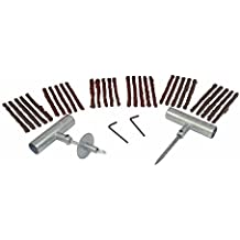 ABN Flat Tire Repair Kit, Tire Plug 34-Piece Set – Tubeless Tire Patch Kit, Tire Repair Kit – Car ATV Motorcycle Mower