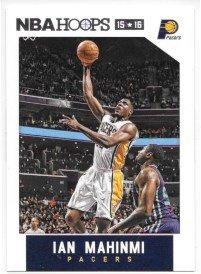Ian Mahinmi 2015-16 NBA Hoops Indiana Pacers Card #181