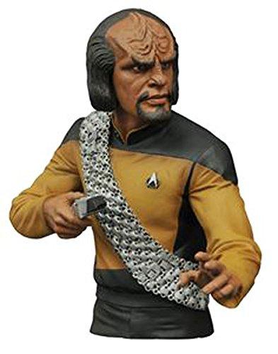 Diamond Select Toys - Star Trek: Lt. Worf Bust Bank - Multi MAY152170
