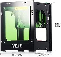 KKmoon 3000mW Grabador láser 445nm inteligente AI Mini ...