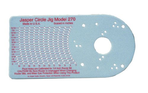 Jasper 270J Model 270 Router Circle Cutting Jig