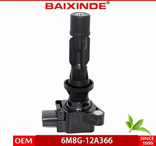 BAIXINDE Ignition Coil for L4-2006-2013 Mazda 3 2006-2013 Mazda 6 2007-2012 Mazda CX-7 2006-2015 Mazda MX-5 Miata L3G218100A C1683 5C1740 6M8G-12A366