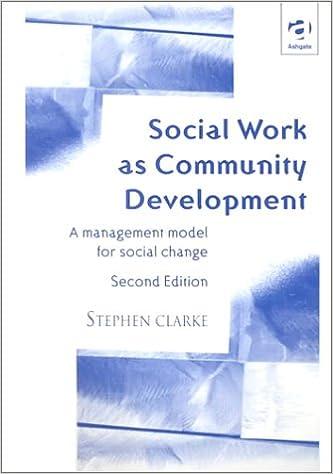 Social Work as Community Development: A Management Model for