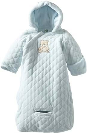 Amazon.com: Little Me Baby Boys' Pram Bag, Light Blue, 0-9 ...