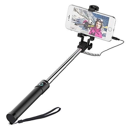 JETech Selfie Stick Cable Control (No Battery No...