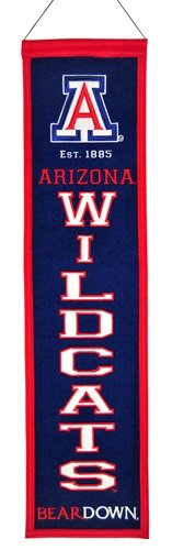 NCAA Arizona Wildcats Heritage Banner
