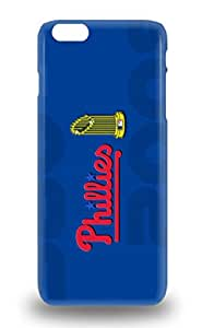 Premium Case With Scratch Resistant MLB Philadelphia Phillies Case Cover For Iphone 6 Plus