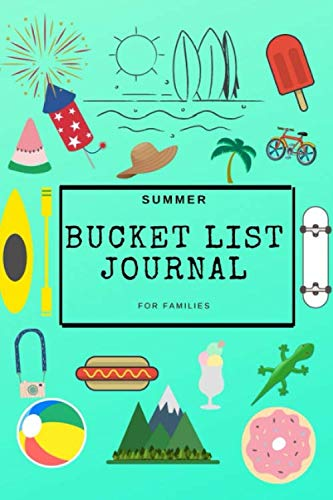 Summer Bucket List Journal For Families