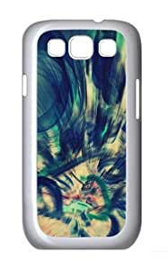 Abstraction Custom Samsung Galaxy I9300/Samsung Galaxy S3 Case Cover Polycarbonate White