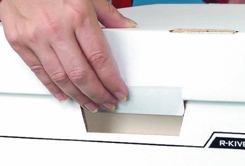 Bankers Box R-Kive Dividerbox Heavy-Duty Storage Boxes, Letter/Legal, 12 Pack (0083601) by Bankers Box (Image #2)