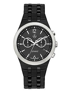 Mercedes Benz Reloj de pulsera cerámica acero inoxidable