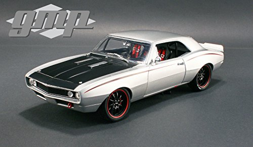 Chevrolet 1967 Camaro Street Fighter Metallic Silver Limited Edition to 1332pcs 1/18 by GMP 18806