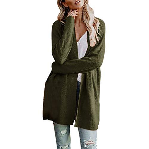 Plus Size Solid Jacket Long...