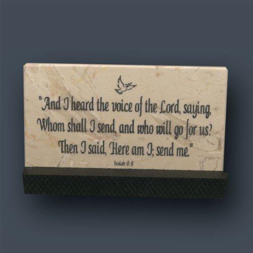 Cheap Isaiah 6-8 Prayer Stone