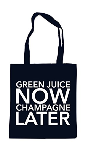 Green Juice Now - Champagne Later Bag Black Certified Freak a32wz