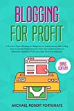 Blogging For Profit: A Proven 6 Figure Strategy For Beginners To Make Money With a Blog: How to Create Passive Income From Your Online Business (Social Media Marketing Book 1)