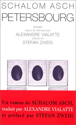 design élégant plus gros rabais marque populaire Pétersbourg: Schalom Asch: 9782913867017: Amazon.com: Books