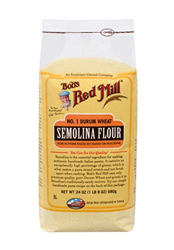 - Bob's Red Mill Semolina Pasta Flour, 24 Ounce