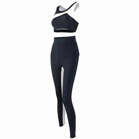 Conjuntos de ropa de yoga Traje deportivo para mujer, 2 pzs ...