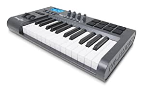 m audio axiom 25 key semi weighted keyboard usb midi controller musical instruments. Black Bedroom Furniture Sets. Home Design Ideas