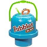 Little Kids Fubbles No Spill Big Bubble Bucket, Steel Blue