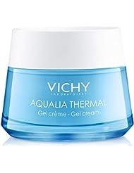 Vichy Aqualia Thermal Mineral Water Gel Moisturizer, 97% Natural Origin Ingredients, 1.69 Fl Oz