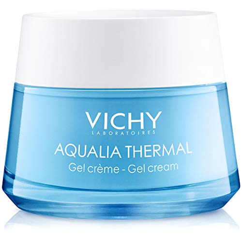 Vichy Aqualia Thermal Mineral Water Gel Moisturizer, 97% Natural Origin Ingredients, 1.69 Fl Oz (Best Thermal Water For Face)