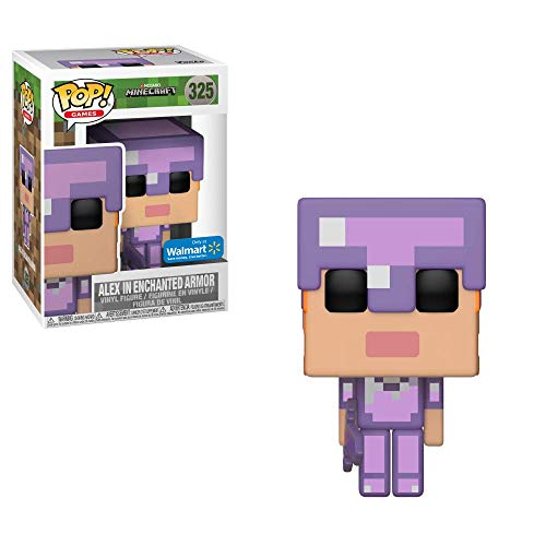 Funko - Figurine Minecraft - Alex In Enchanted Armor Exclu Pop 10cm - 0889698264
