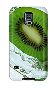 Premium EHrpGsi4042MqaXE Case With Scratch-resistant/ Kiwi Drops Fruit Water Studio Photo Nature Other Case Cover For Galaxy S5