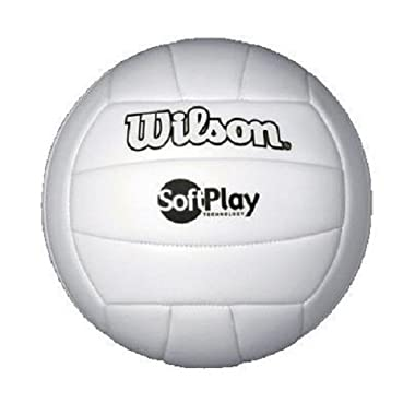 Wilson Outdoor Soft Play Volleyball (White)