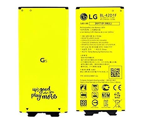 Bateria Original LG G5 H850 2800mAH BL-42D EAC63238901: Amazon.es ...