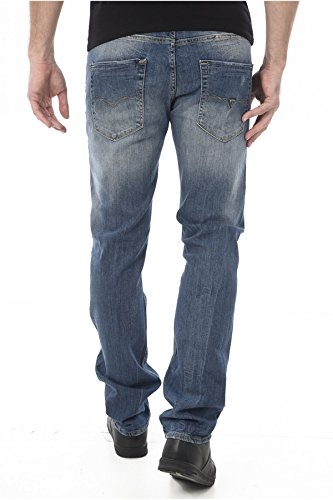 Jeans M64as3d2ct8 Blu Guess Lvlk Denim Uomo 87xqSCHw